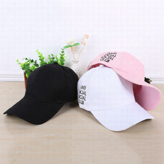 Wholesale Hot Sale Anti Social Social Club Snapback Baseball Caps Fashion Hats Free Shipping