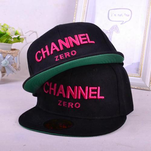 Wholesale-hot Selling Ssur Channel Zero Flat-brimmed Hat Hiphop Hip-hop Snapback Capfr Hiphop Skateboard Baseball Cap Ee Shipping