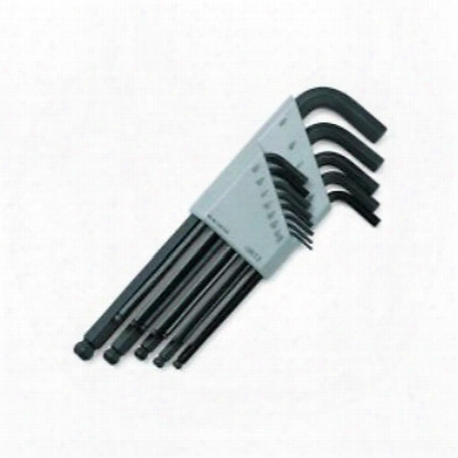 13 Piece Sae Ball Hex Key Set
