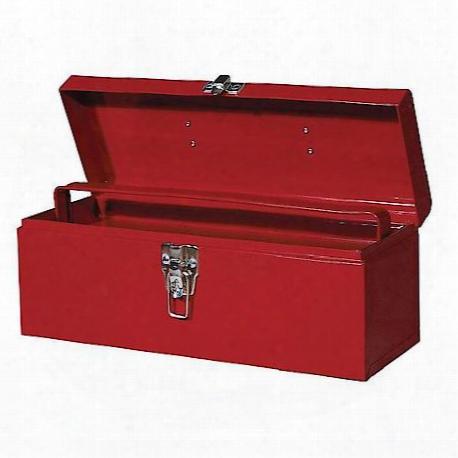 "19"" Metal Hand Tool Box"