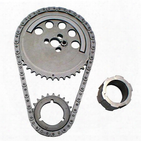 Adjustable Timing Set For Gm Ls Engines, 3-bolt Cam Gear, 1 Pole Reluctor