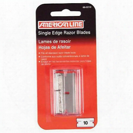 American Line .009 Single Edge Razor Blade Dispenser