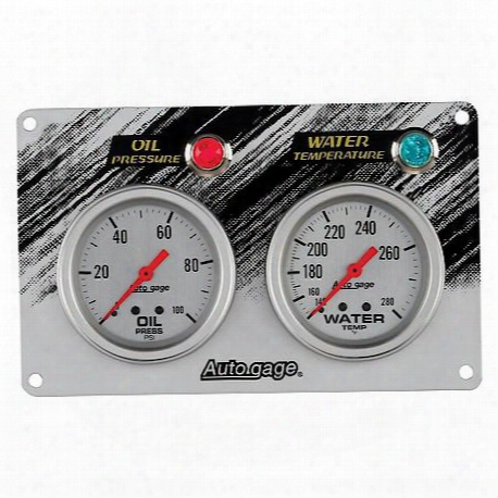 Autogage Mechanical Race Panels Oil Pressure/water Temperature
