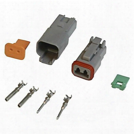 Connector, Deutsch, 2-pin Connector Assembly