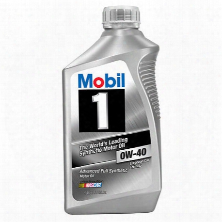 European Car 0w-40 Fully Synthetic Motor Oil (1 Quart)