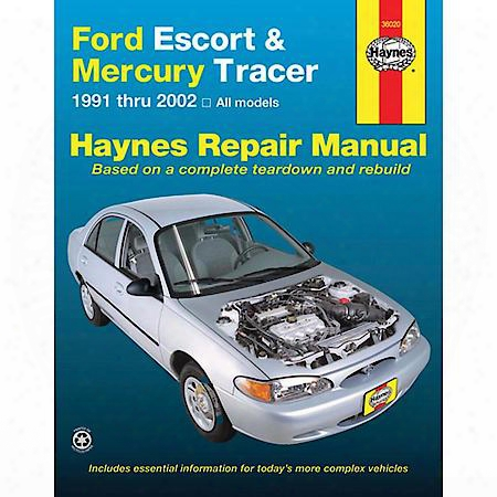 Ford Escort/mercury Tracer '91-'00 Repair Manual