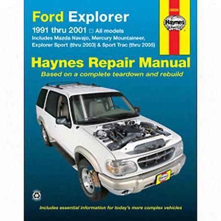 Ford Explorer/mazda Navajo '91-'01 Repair Manual