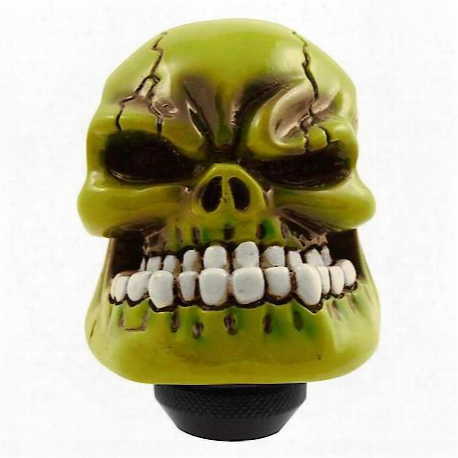 Green Skull Man Shift Knob