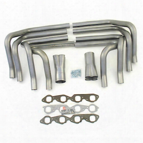 "H8005 2"" Race Weld-up Kit Big Block Chevy W/3 1/2"" Weld-on Collectors"