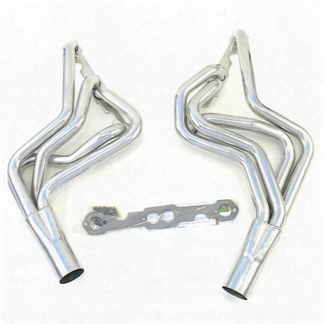 "H8044-1 1 5/8"" Circle Track Header Chevrolet Street Stock Small Block Chevrolet 78-86 Coated"