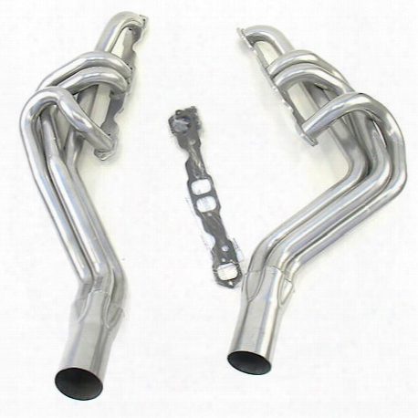 "H8045-1 1 3/4"" Circle Track Header Chevrolet Late Model Small Block Chevrolet Coated"