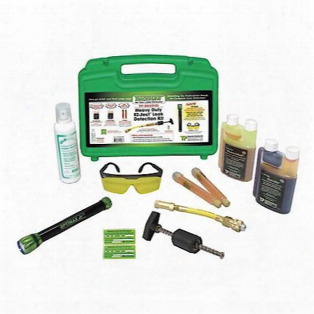 Heavy-duty Optimax Jr/ez-ject Leak Detection Kit