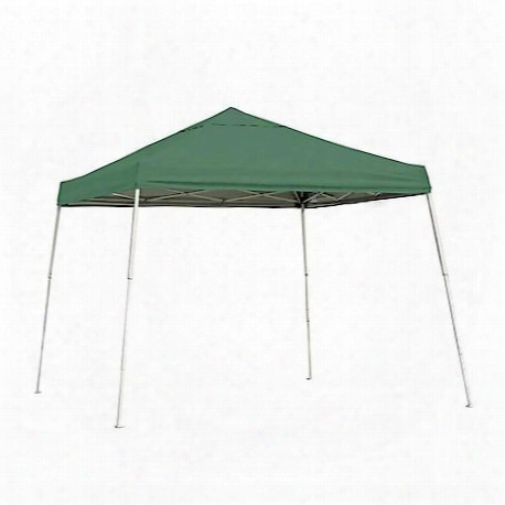 Pop-up Canopy 10'x10' Sport Slant-leg, Green Cover