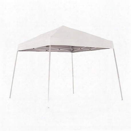 Pop-up Canopy 10'x10' Sport Slant-leg, White Cover