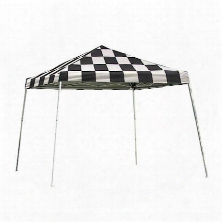 Pop-up Canopy 12'x12' Sport Slant-leg, Checkered Flag Cover