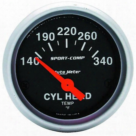 Sport-comp Electric Cylinder Head Temperature Gauge