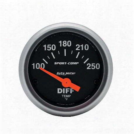 Sport-comp Electric Differential Temperature Gauge