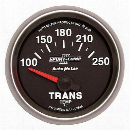 Sport-comp Ii Electric Transmission Temperature Gauge