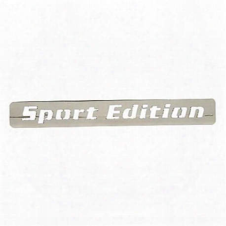Sports Edition Body Decal