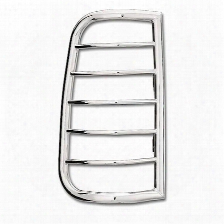 Sportsman Tail Light Guard Chrome