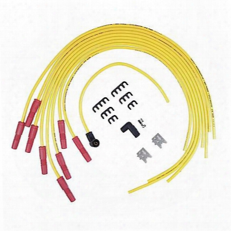 Universal Fit Spiral 8.8mm Core; Spark Plug Wire Set