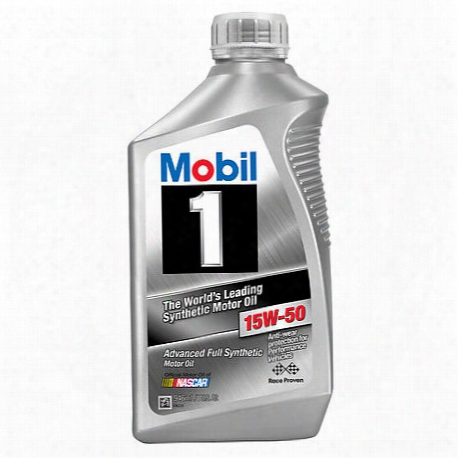 15w-50 Fully Synthetic Motor Oil (1 Quart)