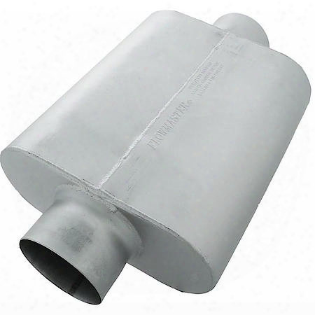 30 Succession Race Muffler - 5.00 Center In / 5.00 Center Out - Aggressive Sound