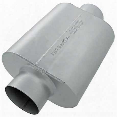 40 Series Race Muffler - 5.00 Center In / 5.00 Center Out - Aggressive Sound