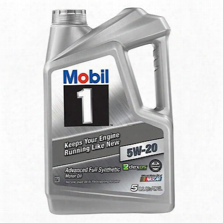 5w-20 Fully Synthetic Motor Oil (5 Plus Quarts Jug)