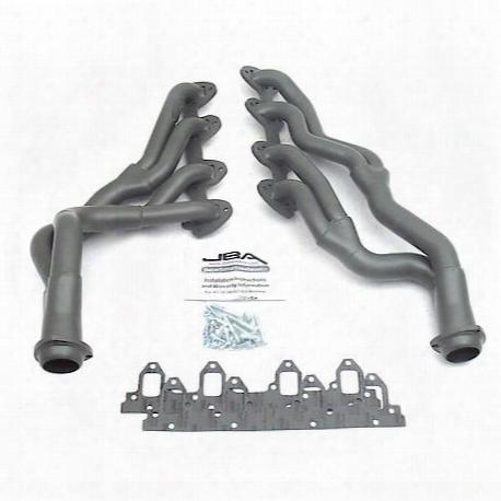 """6655sjt 1 3/4"""" Header Long Tube Stainless Steel 67-70 Mustang 390/427/428 Cobra Jet Titanium Ceramic"""