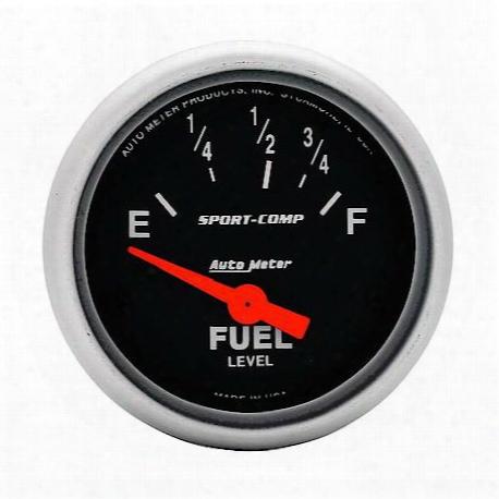 Autometer Sport-comp Electric Fuel Level Gauge - 3315