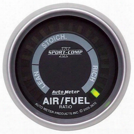 Autometer Sport-comp Ii Electric Air Fuel Ratio Gauge - 3675