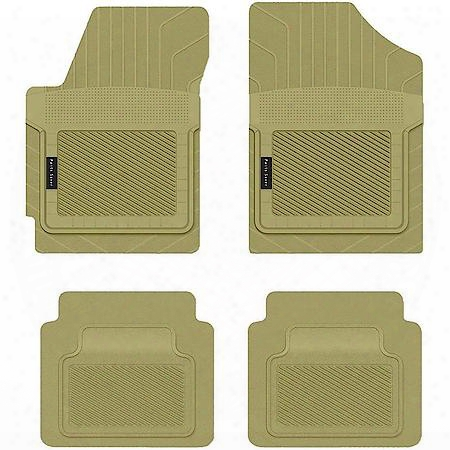 Custom Fit Car Mat 4pc Land Rover Range Rover Sport 2011 Tan