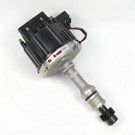 D1170 Flame-thrower Race Distributor Hei Oldsmobile V8 Black Cap