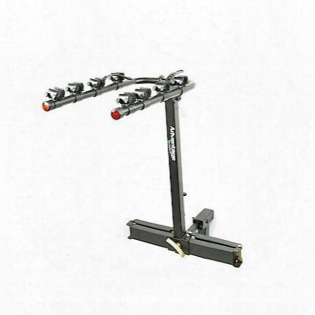 Heininger Automotive Advantage Sportsrack Glideaway2 Deluxe 4 Bike Rack Carrier - 2110