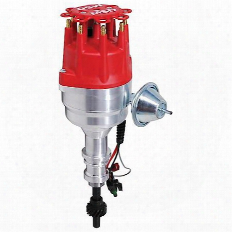 Msd Ignition Distributor, Ford 351c-460, Ready-to-run With Steel Gear - 83501