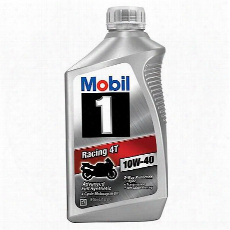 Racing 4t 10w-40 4-cycle Motorcycle Oil (1 Quart)