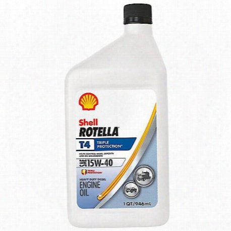 Shell Rotella T4 Triple Protection 15w40 (1-quart)