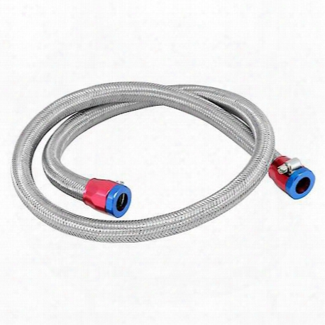 Stainless Steel Flex 3/8 In Filter Line Kit 3 Ft W/clamps