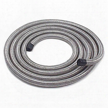 Stainless Steel Flex 3/8 In. Fuel Line 10ft