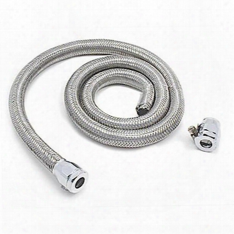 Stainless Steel Flex 3/8 In.fuel Line 4ft
