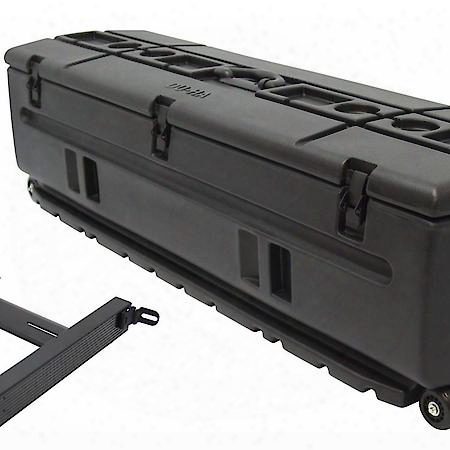 Tote Truck Bed/cargo/suv Storage/gun Case With Slide Bracket