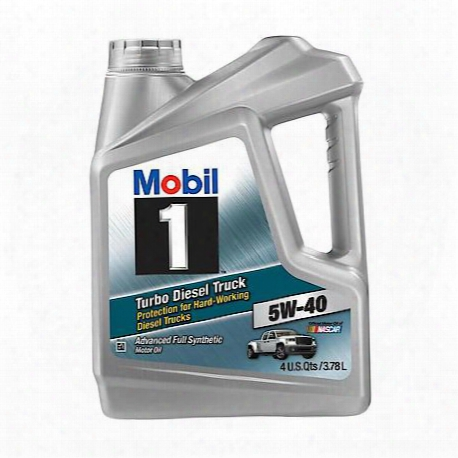 Turbo Diesel Truck 5w40 Fully Synthetic Motor Oil (1 Gallon Jug)