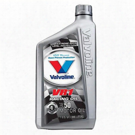 Vr1 Racing Sae50 Motor Oil