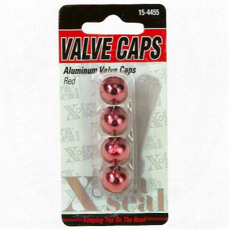 Xtra Seal Sport Valve Cap Red - 15-4455