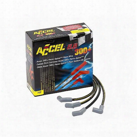 Accel Custom Fit 300+ Race; Spark Plug Wire Set - 7137