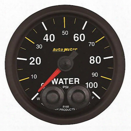 Autometer Nascar Elite Can Water Pressure Gauge - 8168-05702
