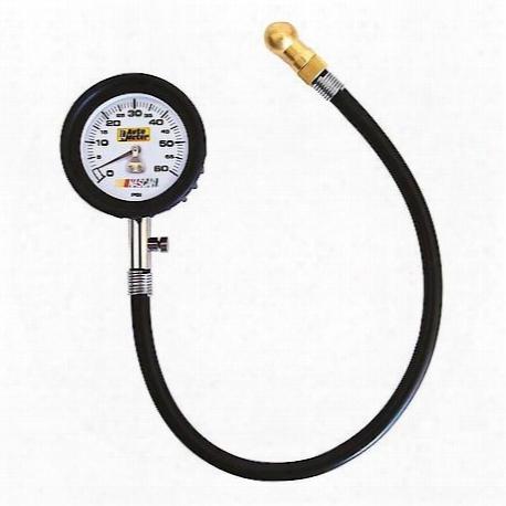 Autometer Nascar Tire Pressure Gauge - 2160