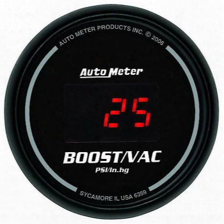 Autometer Sport-comp Digital Boost/vacuum Gauge - 6359