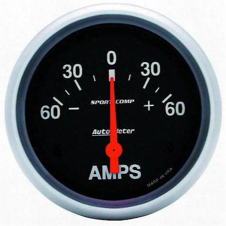 Autometer Sport-comp Electric Ampmeter Gauge - 3586